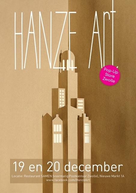 HANZE Art Pop-up Store voor twee dagen