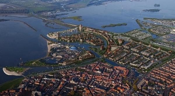 Harderwijk brengt de zee weer naar de stad