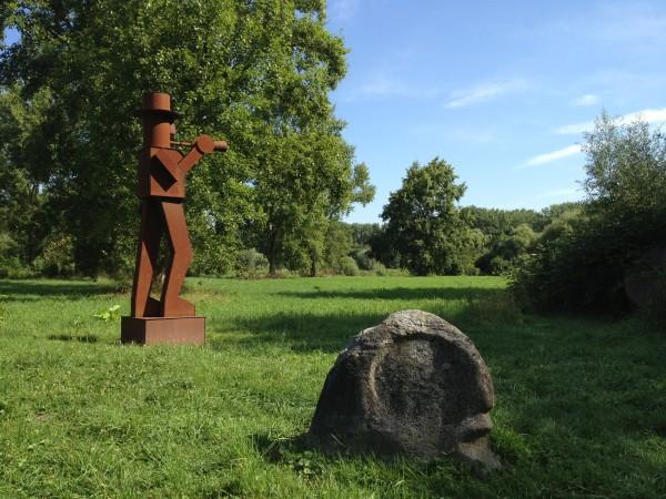 Kunst parallel aan de natuur: Museum Insel Hombroich